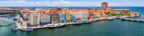 centre ville et port de willemstad
